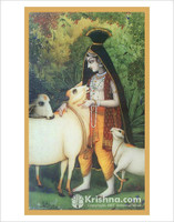 Govinda, Lover of the Cows Poster, Large