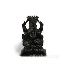 """Ganesh Murti, Black Soapstone, 4"""""""