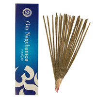 OM Nagchampa Incense, 40 grams