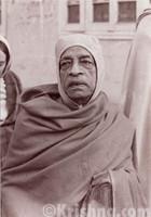 "Srila Prabhupada Sepia Photo, Wearing A Hat, 5""x7"""