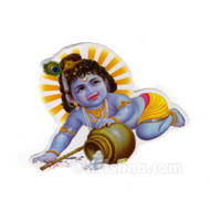 Little Krishna Sticker