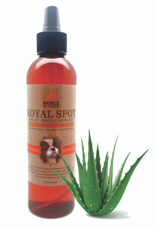 Royal Spot Hot Spot Spray With Colloidal Silver