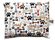 Timeless Treasures Dog Bones & Paw Prints Cream