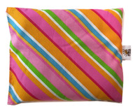 Bright Stripes Pillow (Note: Colors may appear slightly different on screen due to lighting)