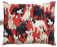 French Bulldogs in Red Aromatherapy Pillow