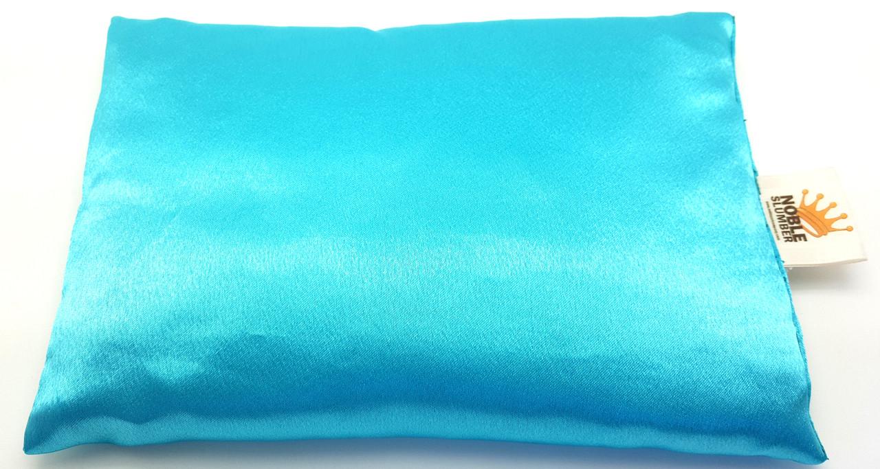 Aromatherapy Pillow Pet : Turquoise Silk Slumber Pillow - Noble Pet Company