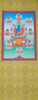Akshobhya Buddha with 8 Aspects of Tara