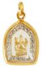 4 Headed Brahma  Buddha with Zircon