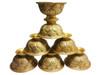 Brass Lotus Design Bowl 7pcs  set