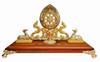 Dharma Wheel(Enamel) with Two Deers