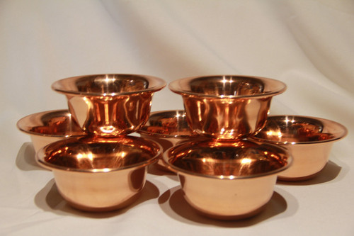 Copper Offering Cups
