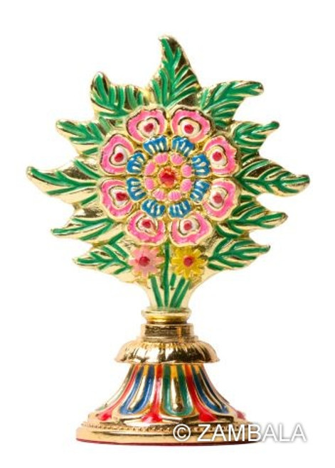 Gold plated Flower for offering bowls