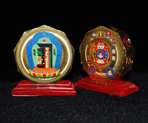 Hexagon Kalachakra and Protection Mandala