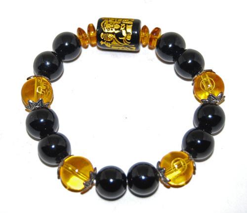 3 Faced Wealth God Bracelet