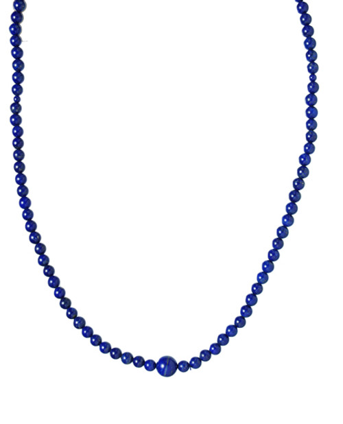 Lapis Lazuli Mala 6 mm Grade A