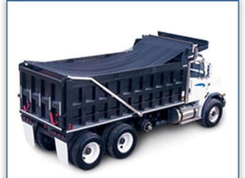 18oz 7' Wide Heavy Duty Asphalt SOLID Vinyl Dump Truck Tarp