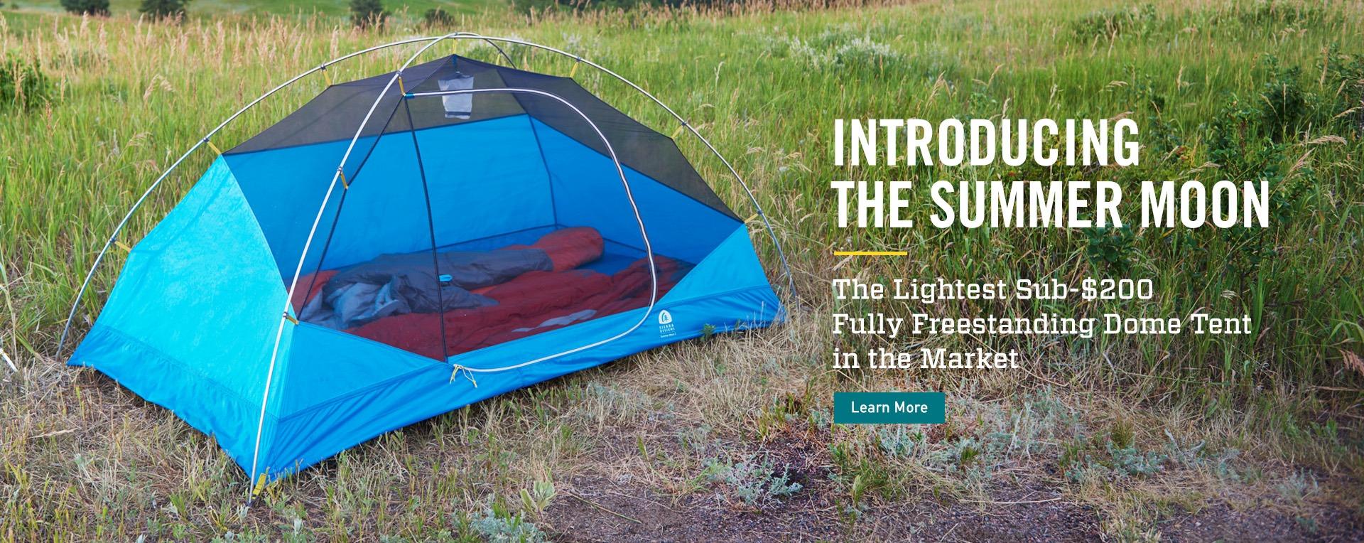 New Summer Moon Tent