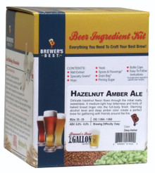 Brewer's Best Hazelnut Amber Ale One Gallon Ingredient Kit
