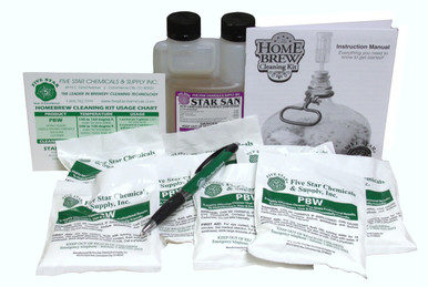 Five Star Cleaning Kit Ingredients