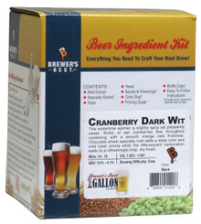 Brewer's Best Cranberry Dark Wit One Gallon Ingredient Kit