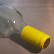 Yellow PVC Shrink Capsules