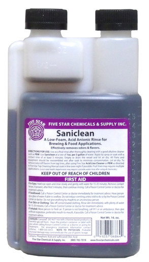 Five Star Saniclean 16 oz. Bottler