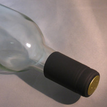 Black PVC Shrink Capsules