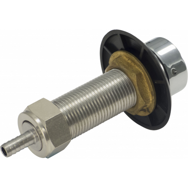 """3"""" Stainless Steel  Beer Faucet Shank Assembly"""
