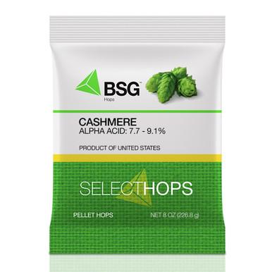 Cashmere Hop Pellets, 8 oz Package