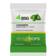 Cashmere Hop Pellets, 8 oz Package