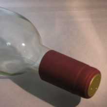 Burgundy PVC Shrink Capsules - 30