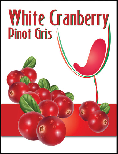 Island Mist White Cranberry Pinot Gris Labels