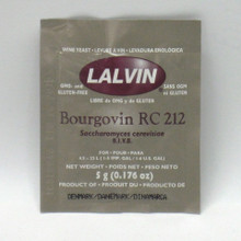 Lalvin Bourgovin RC 212 Wine Yeast