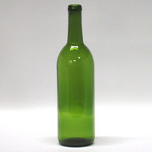 750 ML Champagne Green Bordeaux Bottles