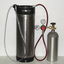 Homebrew Kegging System W/Used Keg - Pin Lock