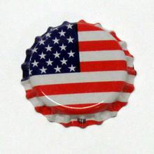 American Flag Oxygen Barrier Crown Caps