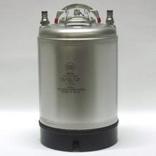 New 2.5 Gallon Ball Lock Keg - A.E.B.