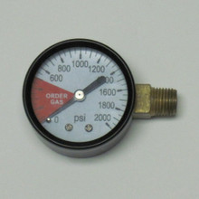 High Pressure Replacement Gauge LH