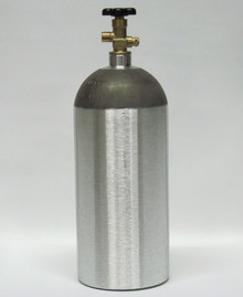 New 10 lb Aluminum CO2 Tank