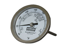 "BrewMometer 3"" Dial Face Thermometer"