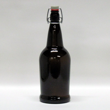 1 Liter Amber EZ Cap Bottles ~ Eastern Shores Brewing