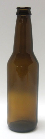 12 oz Amber Beer Bottles