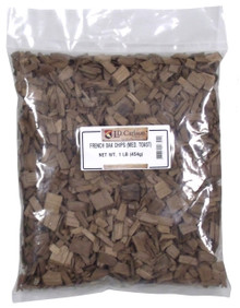 1 pound bag of French Medium Toast Oak Chips