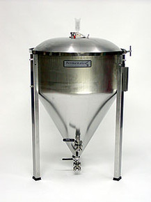27 Gallon Conical Fermentor with NPT Fittings