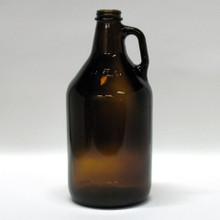 1/2 Gallon Amber Glass Jug