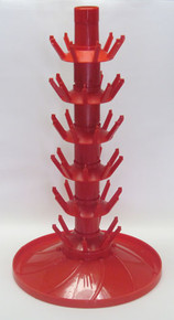 90 Bottle Drainer Tree with Rotating Base