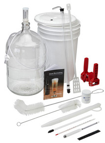 Brewer's Best Deluxe Equipment Kit with Glass Carboy
