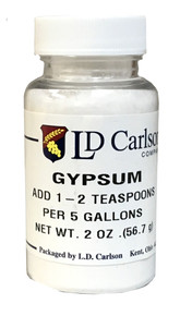 2 oz container of gypsum