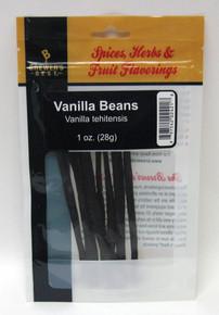 Vanilla Beans 1 oz