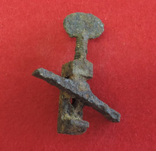Excavated Mainspring Vise for the Springfield Rifle Found in Rocky Face, GA